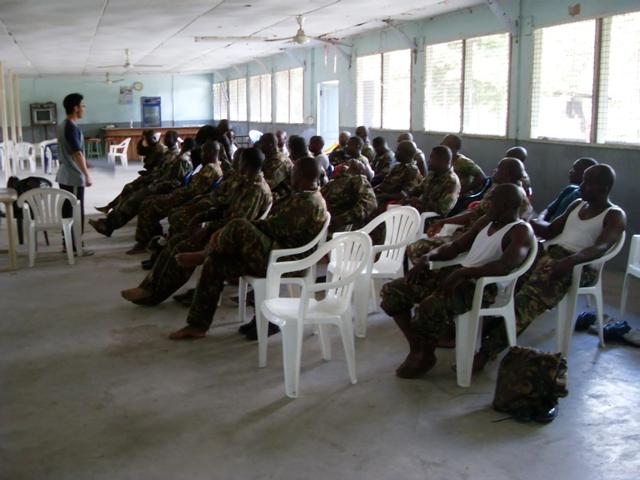 Taekwondo Belt Exam in Tanzania