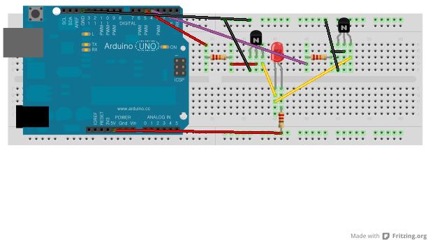 아두이노 프로젝트 #4 - 트랜지스터로 OR Gate ..
