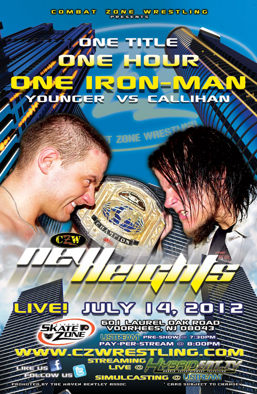 CZW 2012.07.14 New Height iPPV 리포트