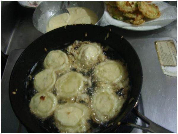 감자튀김, 호박튀김, 고추튀김, 감자녹말(전분..