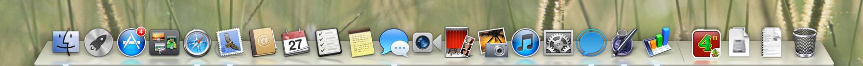Mac OS X 10.8 마운틴 라이언 달라진 점.