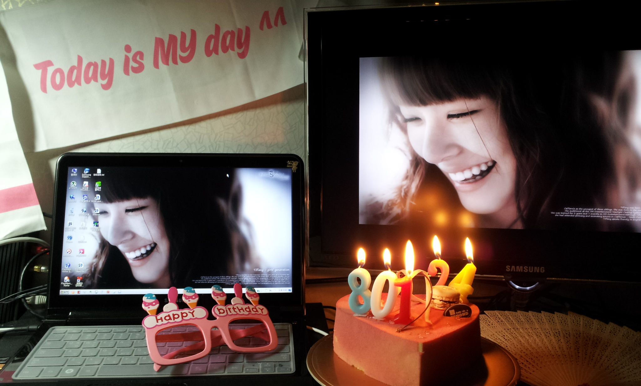 120801 Today is MY day :-) (파니야 생일 축..