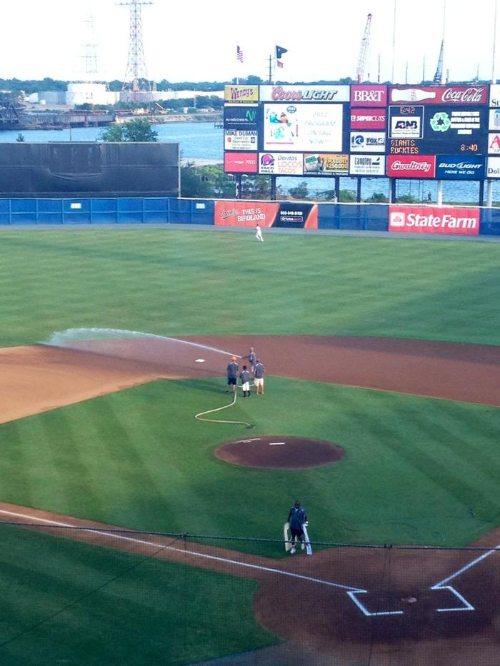 야구장에 가다 : Harbor Park