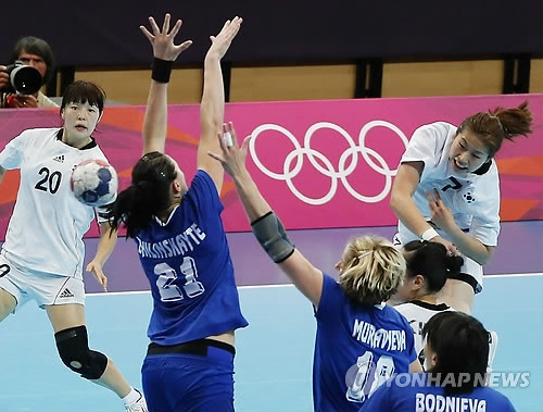 런던올림픽 여자 배구, 핸드볼 눈부신 활약에 박수