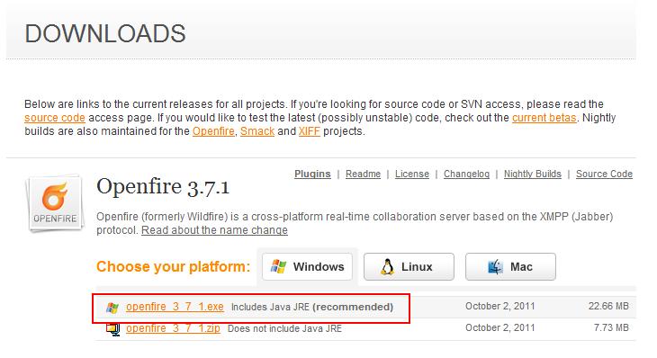 Windows 7 에 Openfire + SQL SERVER 구성