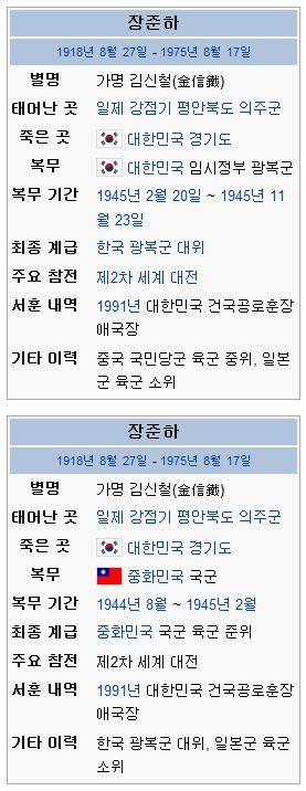 장준하선생의 일본군 장교경력?