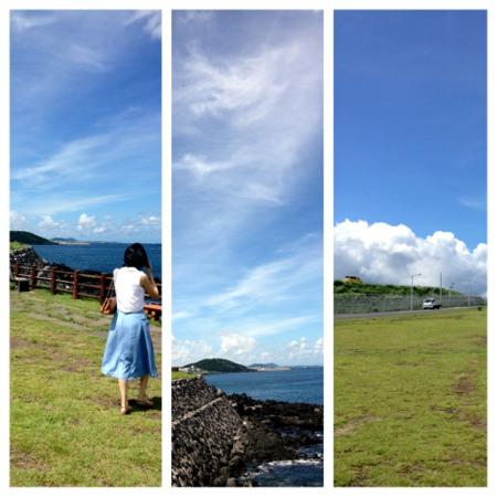 오늘은 비바람이 몰아치지만 - 며칠전 아름다웠던 ..
