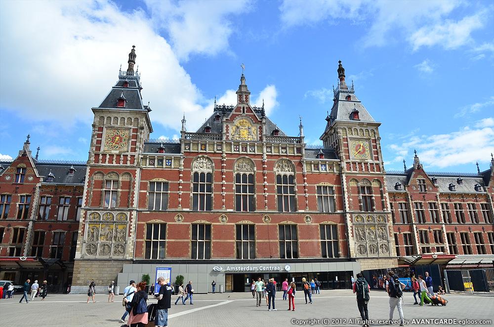 [유럽 배낭여행기] 2일: 네덜란드 암스테르담 -..