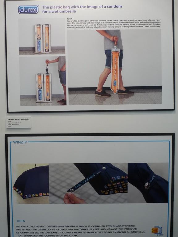 기발한 아이디어 전시회. 2012 부산국제광고제 - 2