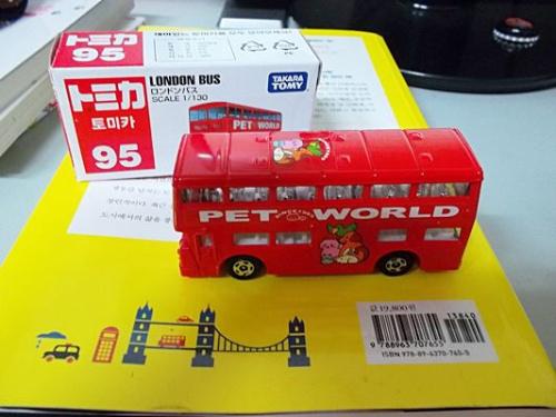 토미카 런던 버스.