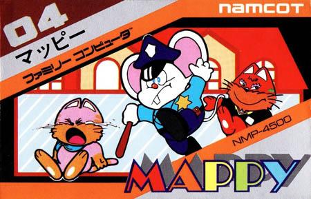 [FC] 마피 (MAPPY, 1984, NAMCOT)