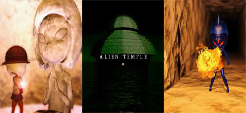 Music Junknote 361 // ALIEN TEMPLE