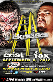 CZW 2012.09.08 Down With The Sickness 리포트