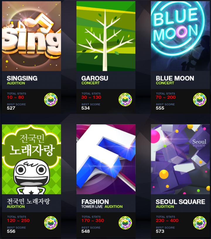 [탭소닉 링스타] 스타 카드 육성 중간 점검