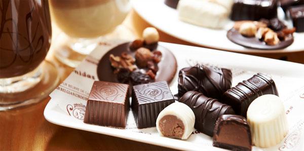 벨기에 초콜릿 카페 ≪레오니다스≫