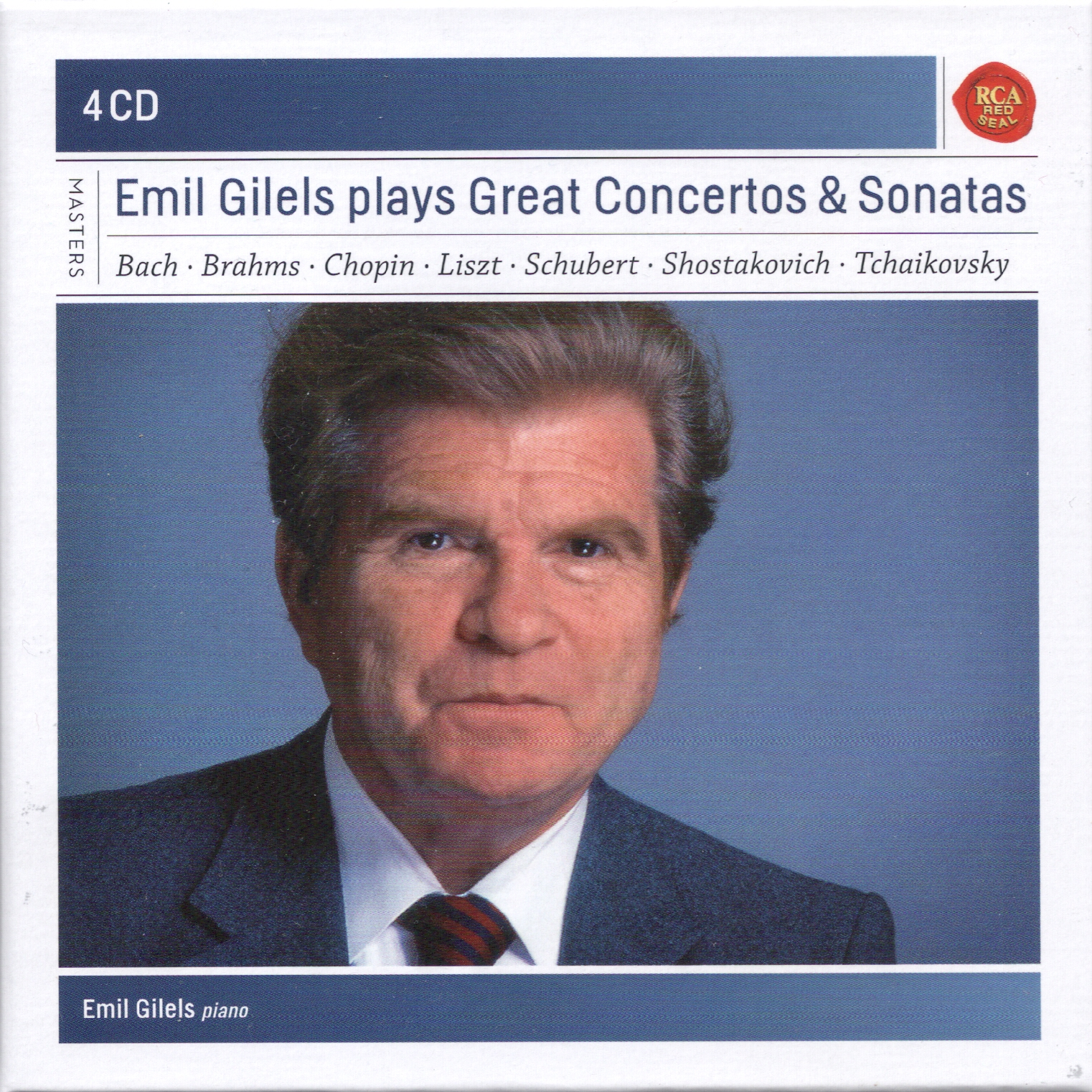 Emil Gilels at RCA & US Columbia(SonyBMG)