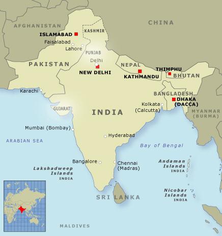 인도와 파키스탄, 그리고 방글라데시는 왜, 어떻게..