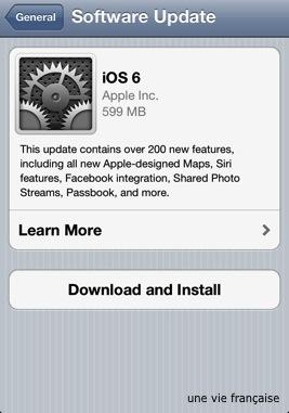 iOS 6 업데이트 & Siri와 놀기