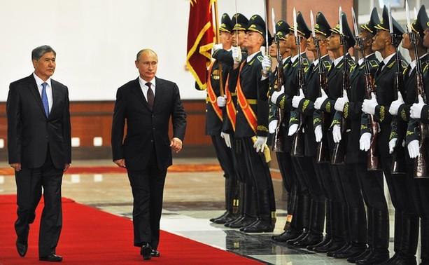 기지 연장과 채무 탕감에 합의한 러시아와 키르기..