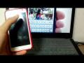 아이폰5 광고 패러디하기