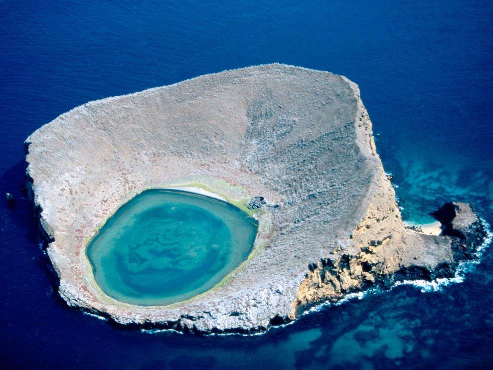 너무 지칠때 떠나고싶은 섬 에콰도르의 블루라군~