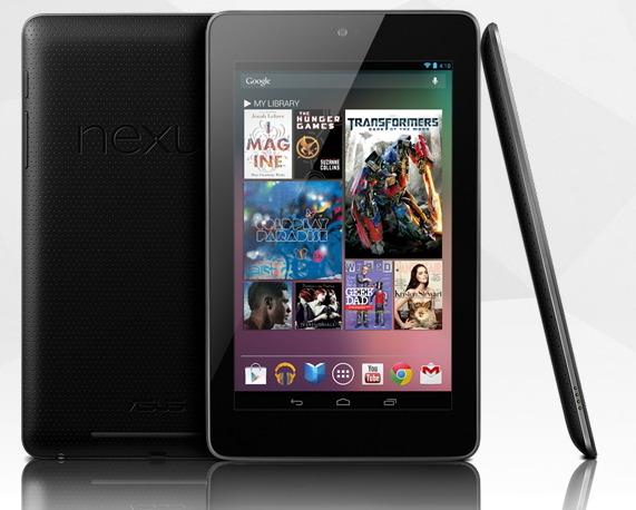 구글 넥서스7 16GB 모델 29만 9천원에 국내 출시