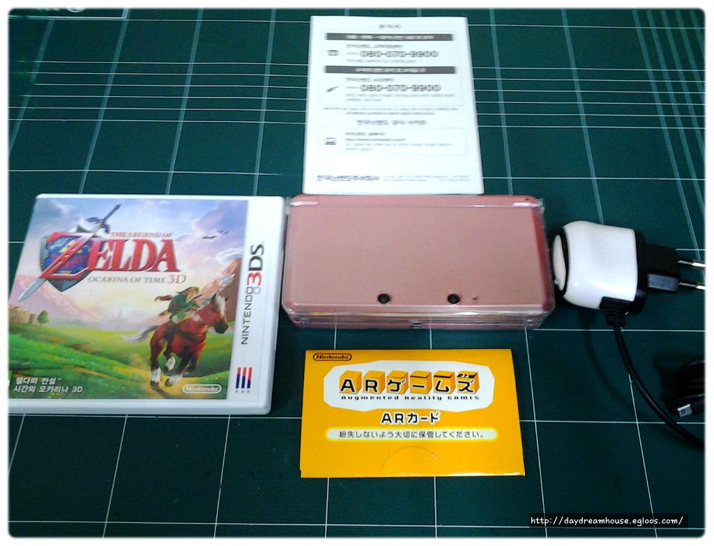 정발 3DS,젤다의 전설 시간의 오카리나 3D 구입
