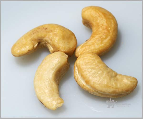 모양은 구부러졌어도 맛이 좋은 Cashew nut