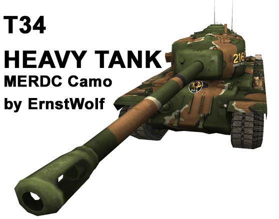 [Skin] T34 MERDC Camo