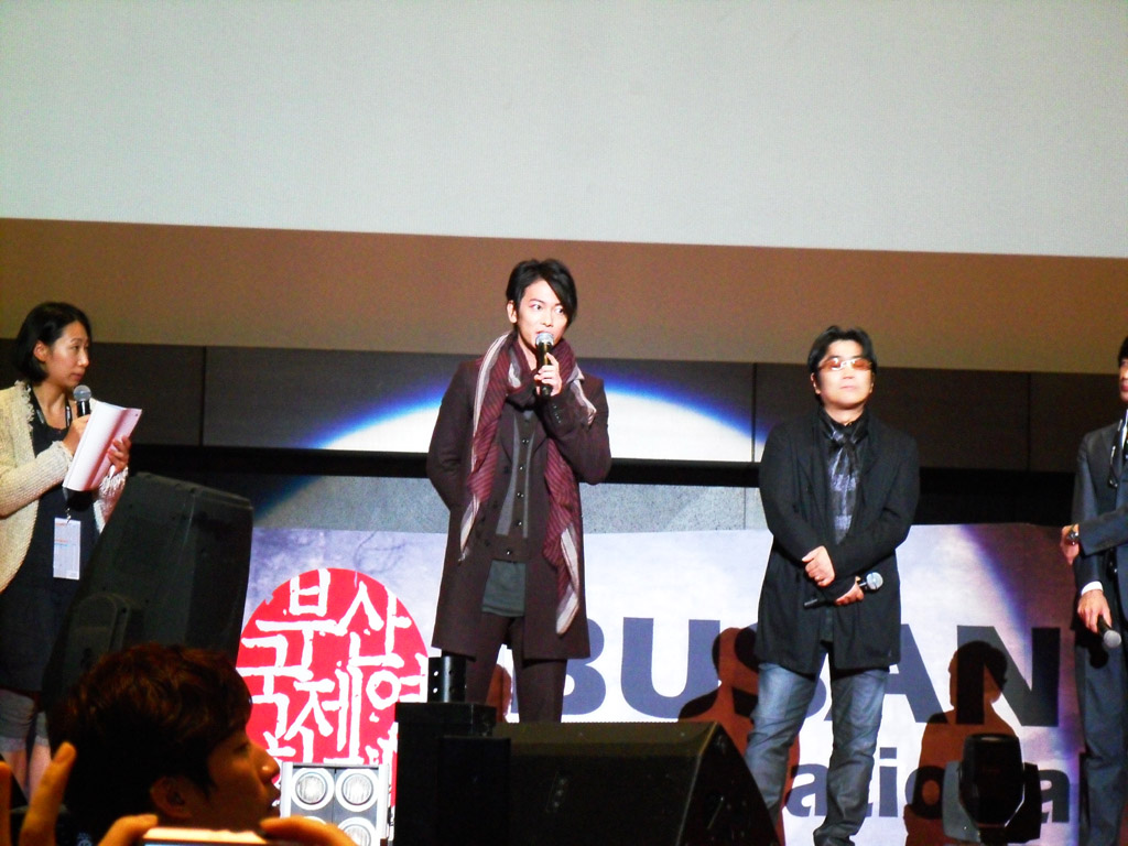 [17th BIFF] 2012년 10월 5일 바람의 검심 무대인사 ..