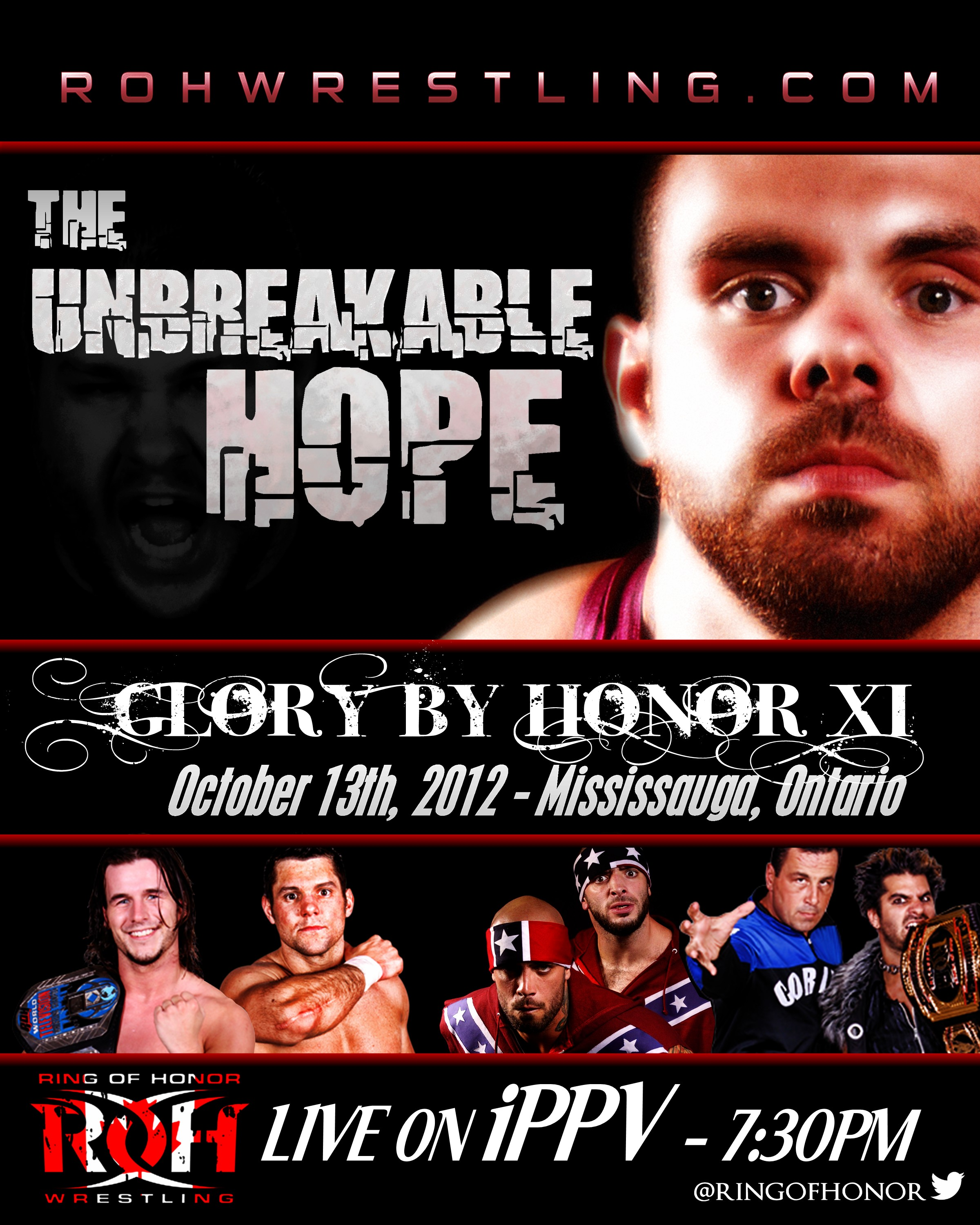 Ring  Of Honor 2012.10.13 Glory By Honor XI 라이..