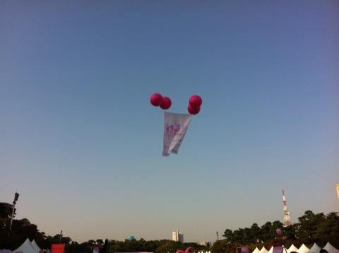 작년보다 빨리뛴 2012 핑크리본 사랑마라톤