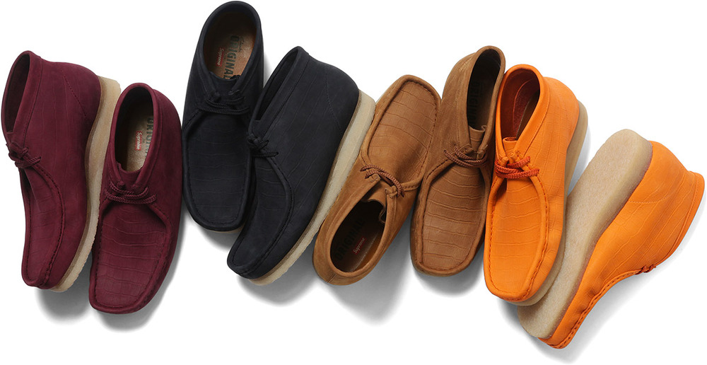 Clarks®/Supreme Wallabee Boot