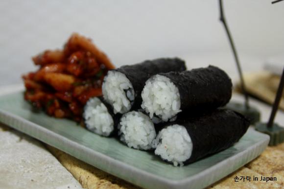 집들이 음식, 만두보다 충무김밥이 더 최고!!