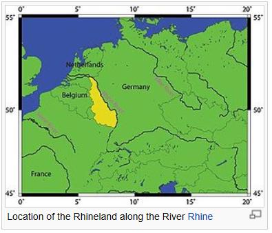 """""""라인란트 재무장시 프랑스의 예방전쟁이 좌절된 .."""
