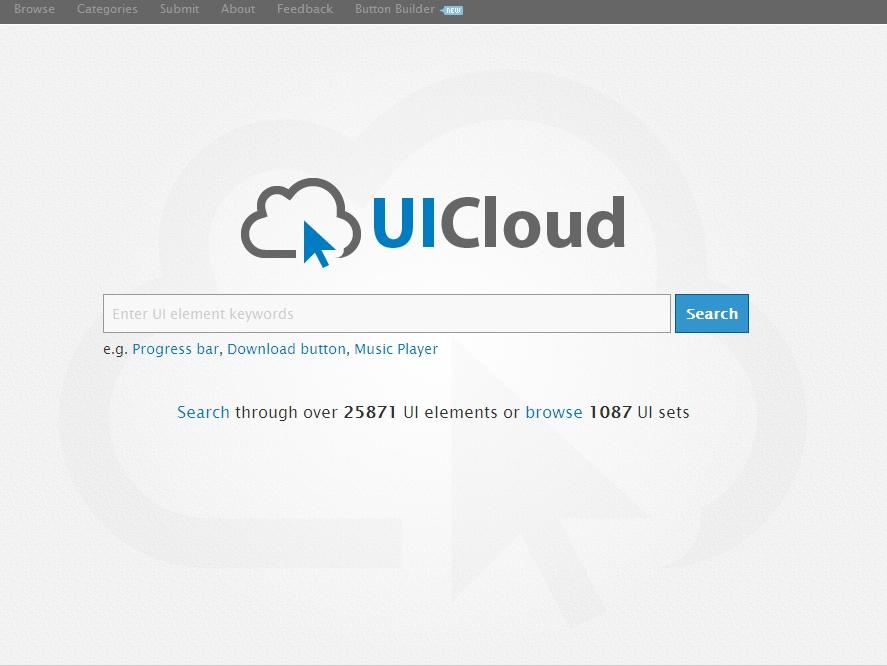 새로운 형태의 디자인 검색 : UICloud
