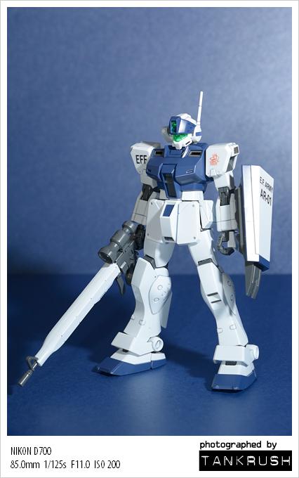 [HGUC] RGM-79SP GM SNIPER Ⅱ [WHITE DIN..