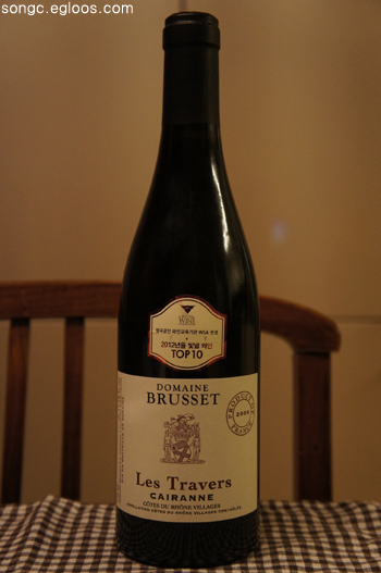 Domaine Brusset Cairanne Les Travers Roug..