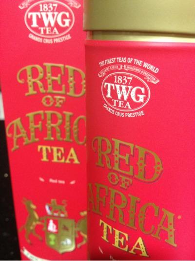 TWG tea - Red of Africa