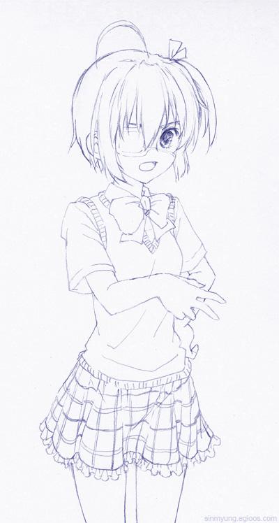 소녀그리기4 - 타카나시 릿카