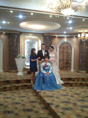 오라버니 결혼식