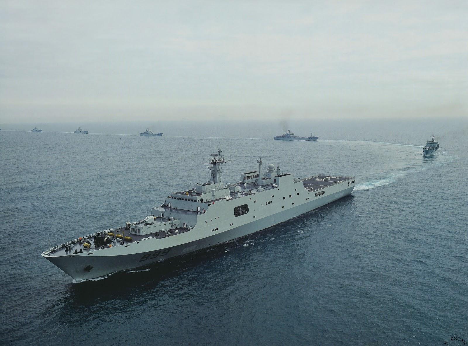 중국해군 상륙함 성장력이 장난이 아니네요.