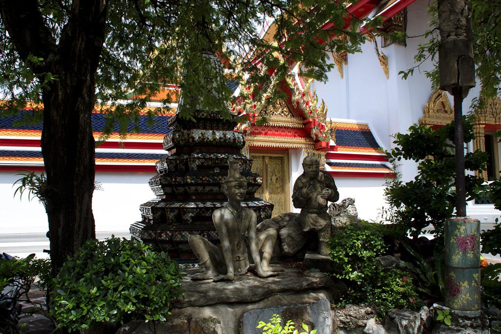 태국 - 왓포, 왓아룬, 비만멕궁전, 짜뚜짝 시장