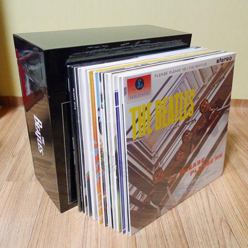 비틀즈 리마스터 LP 박스 개봉기!