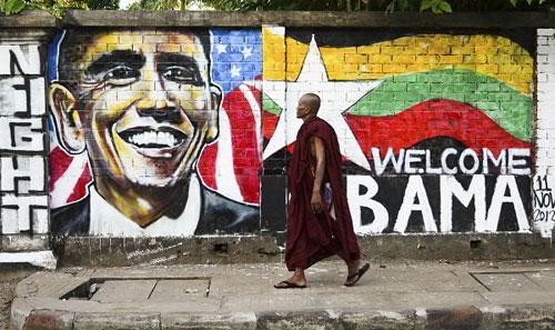 미얀마를 미얀마로 부른 오바마