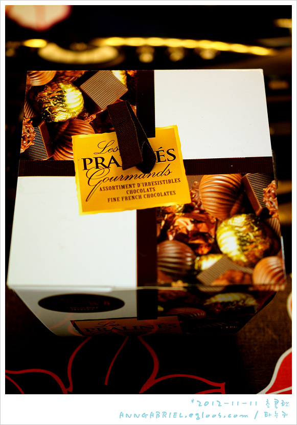 [시모아] 프랄린 기프트박스 초콜릿