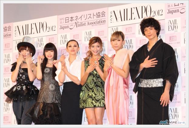 '네일 퀸 2012', 쿠리야마 치아키, 시노다 마리코,..