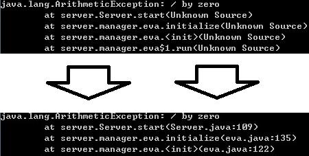 에러처리를 위한 컴파일 옵션에 디버그 추가