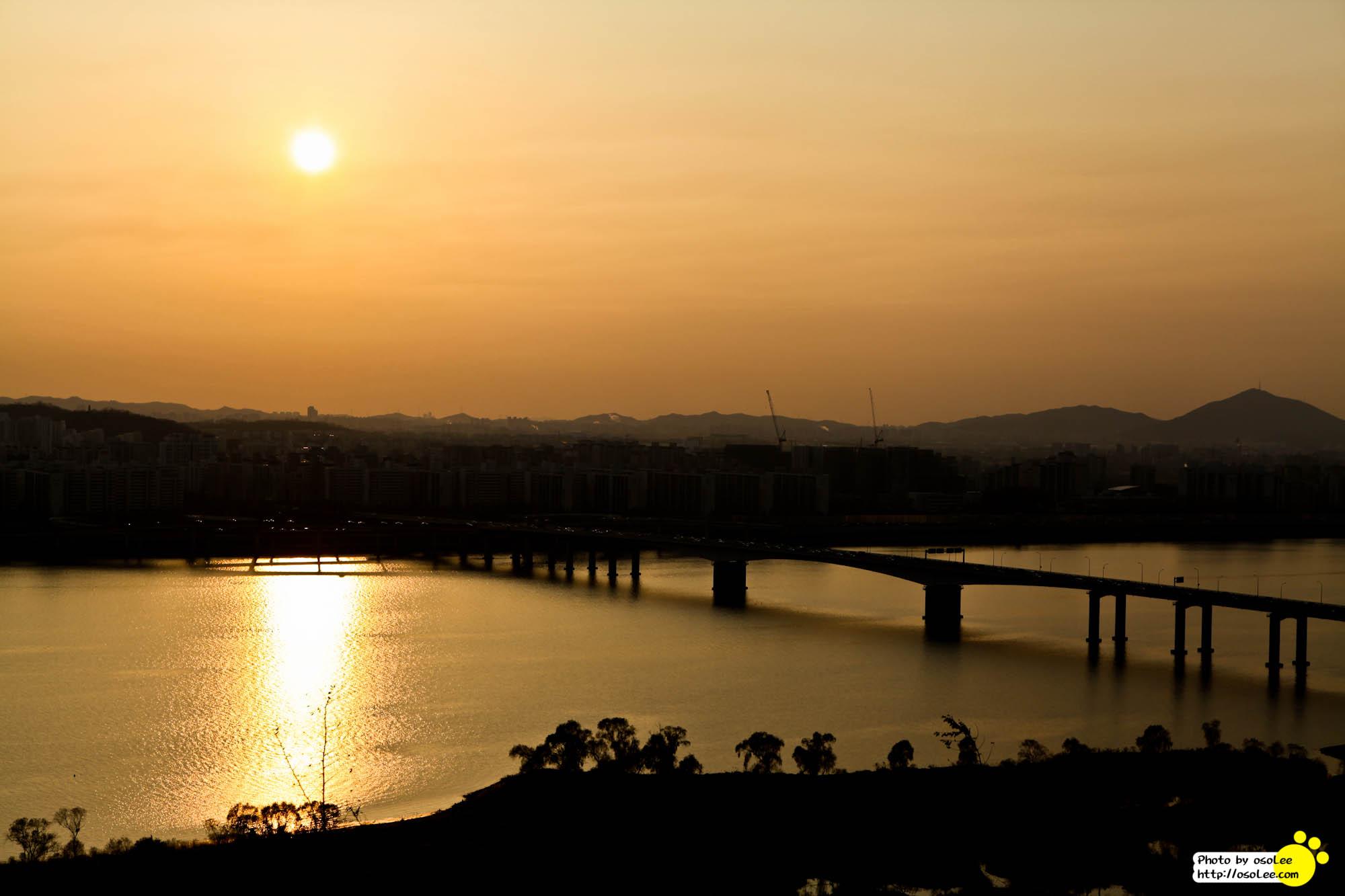 상암동 노을공원