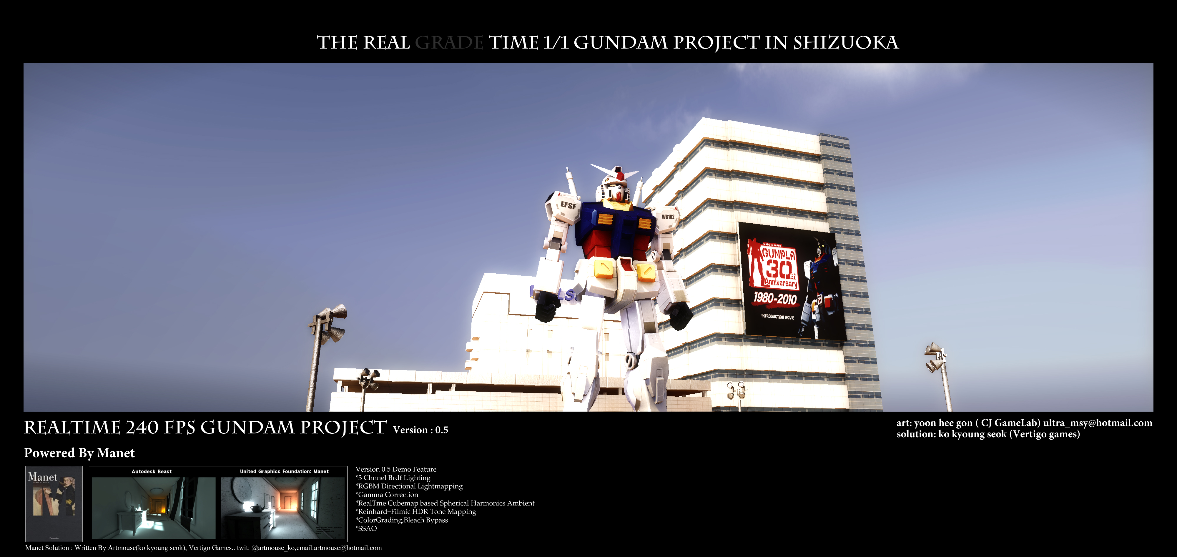 REAL TIME 1:1 Tokyo Gundam Project 2012